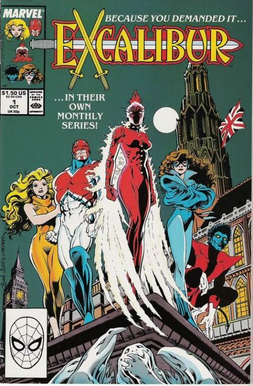 Couverture de Excalibur (1988) -1- Warwolves of London!
