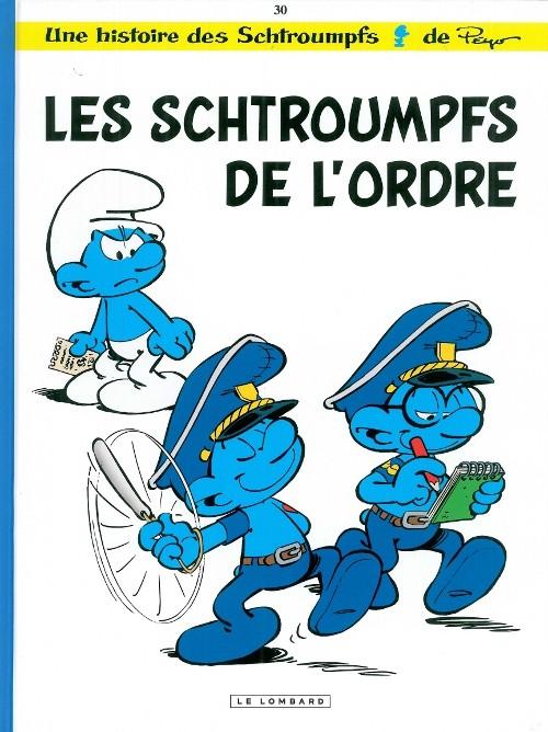 Couverture de Les schtroumpfs -30- Les Schtroumpfs de l'ordre