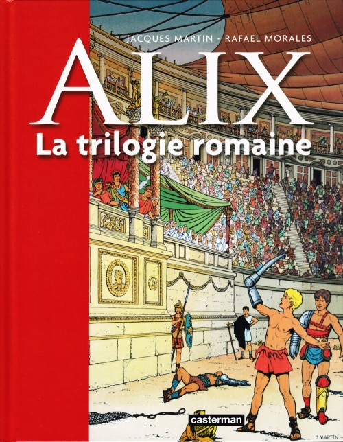 Couverture de Alix -INT2- La trilogie romaine