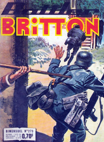 Couverture de Battler Britton (Imperia) -273- Le bal des momies
