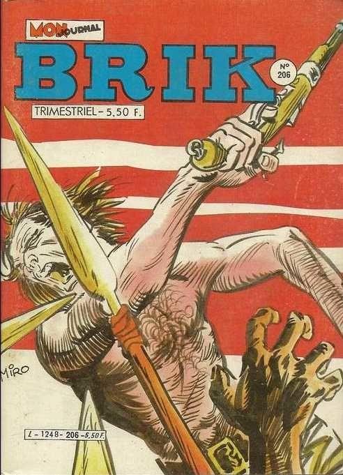 Couverture de Brik (Mon journal) -206- Le crapaud noir