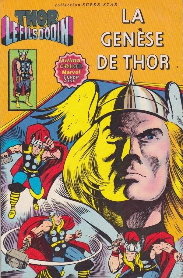 Couverture de Thor le fils d'Odin -1- La Genèse de Thor