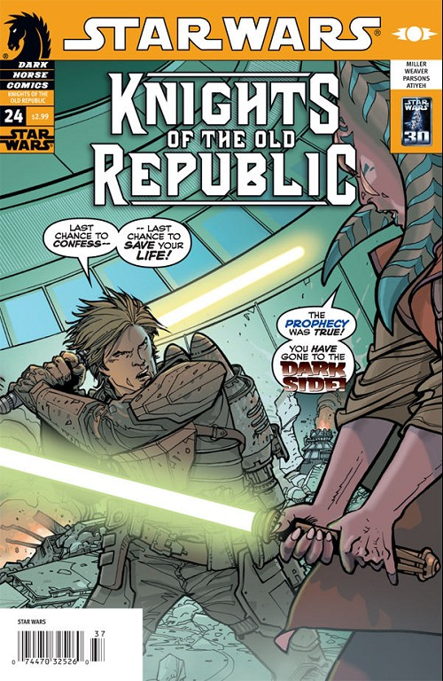 Couverture de Star Wars: Knights of the Old Republic (2006) -24- Knights of suffering 3