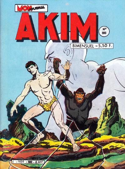 Couverture de Akim (1re série) -593- La pyramide de Zéro