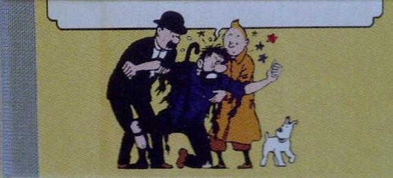 Couverture de Tintin - Pastiches, parodies & pirates -Pir- Mille millions de mille sabords