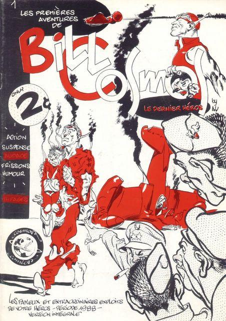Couverture de Bill Cosmos -1- Les premières aventures de Bill Cosmos