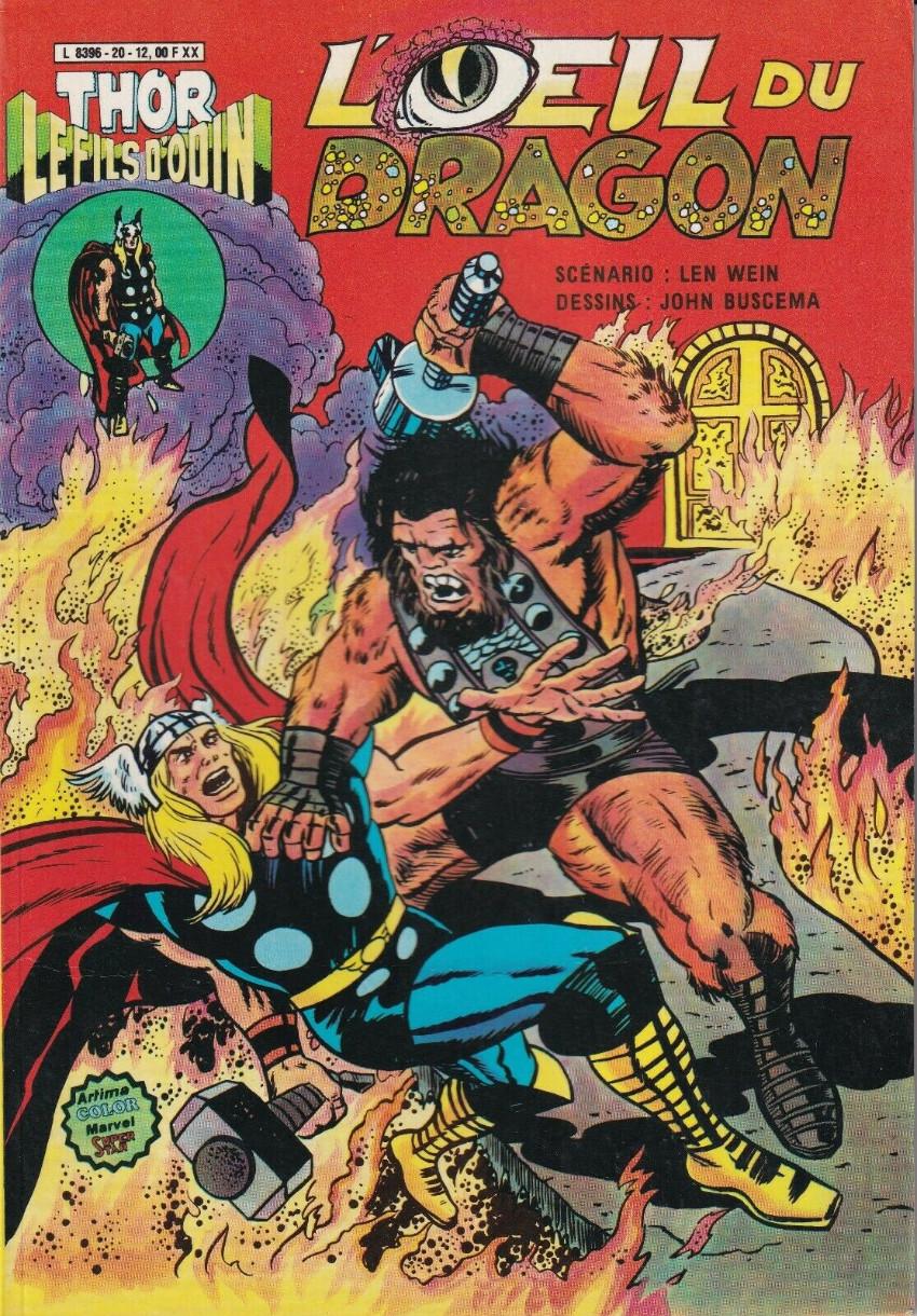 Couverture de Thor le fils d'Odin -20- L'œil du dragon