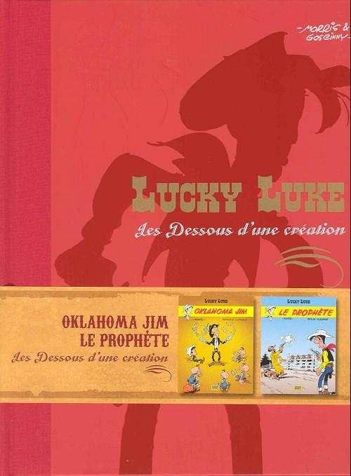 Couverture de Lucky Luke - Les Dessous d'une création (Atlas) -31- Oklahoma Jim - Le Prophète