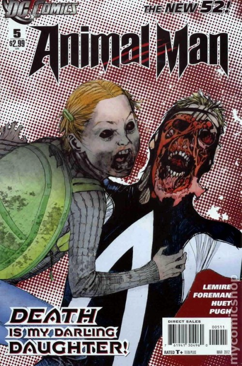 Couverture de Animal Man (2011) -5- Animal Man #5