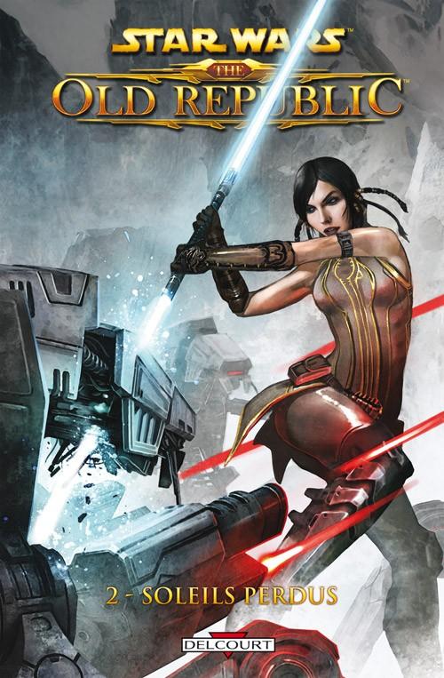 Couverture de Star Wars - The Old Republic (Delcourt) -2- Soleils perdus