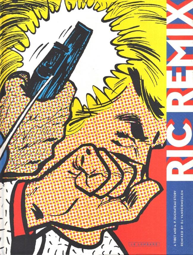 Couverture de Ric Hochet - Ric Remix