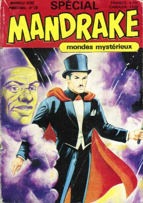 Couverture de Mandrake (4e Série - Remparts) (Spécial - 2) -18- Mandrake contre Octon