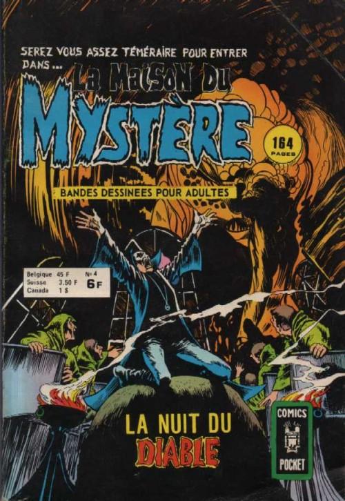 Couverture de La maison du Mystère (Arédit) -4- La nuit du Diable
