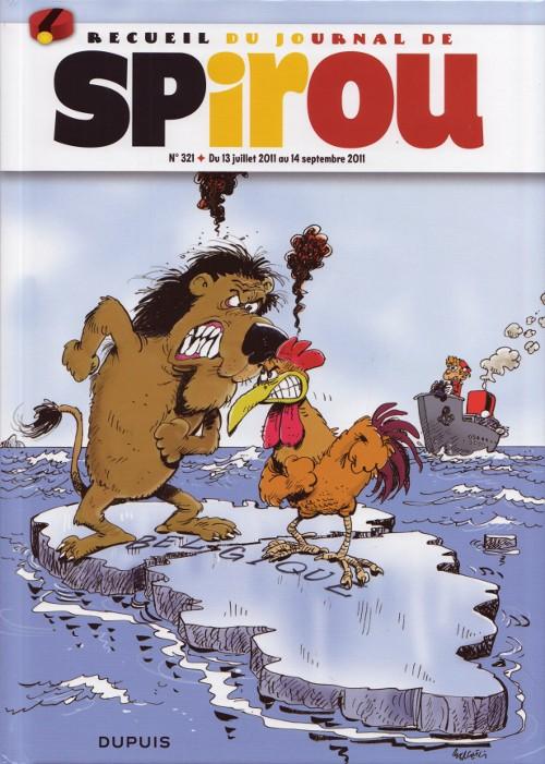 Couverture de (Recueil) Spirou (Album du journal) -321- Spirou album du journal