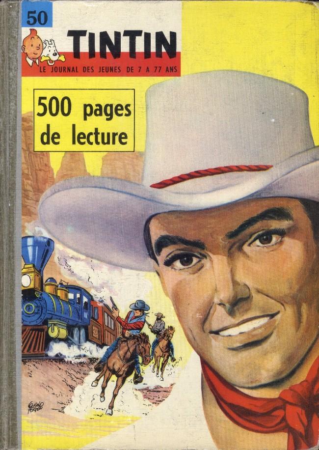 Couverture de (Recueil) Tintin (Album du journal - Édition française) -50- Tintin album du journal (n° 666 à 675)