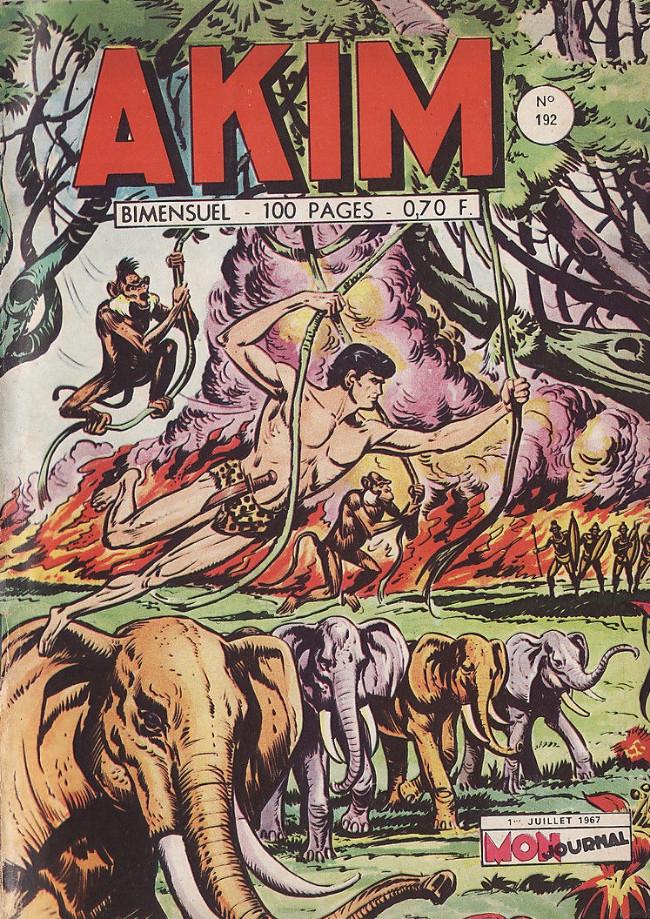 Couverture de Akim (1re série) -192- Le Royaume des Ombres Blanches