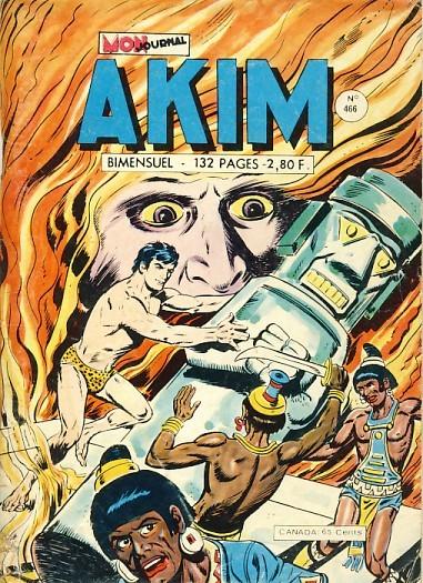 Couverture de Akim (1re série) -466- La fontaine de feu