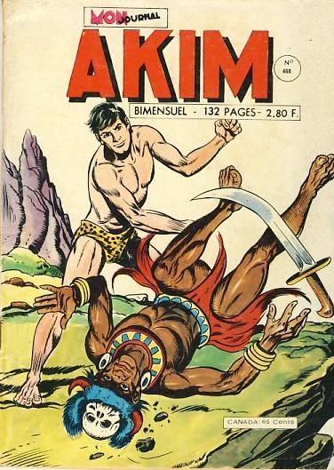 Couverture de Akim (1re série) -468- Le parfum de la mort