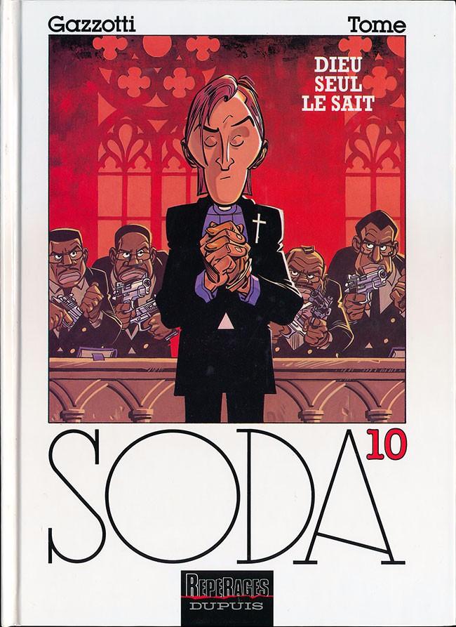 Couverture de Soda -10- Dieu seul le sait