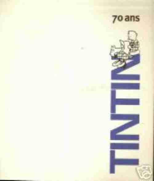 Couverture de (AUT) Hergé -63- 70 ans - Tintin