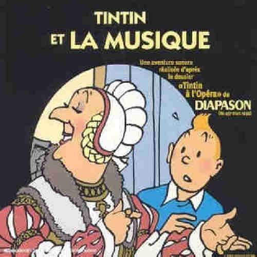 Couverture de (AUT) Hergé -0CD- Tintin et la musique