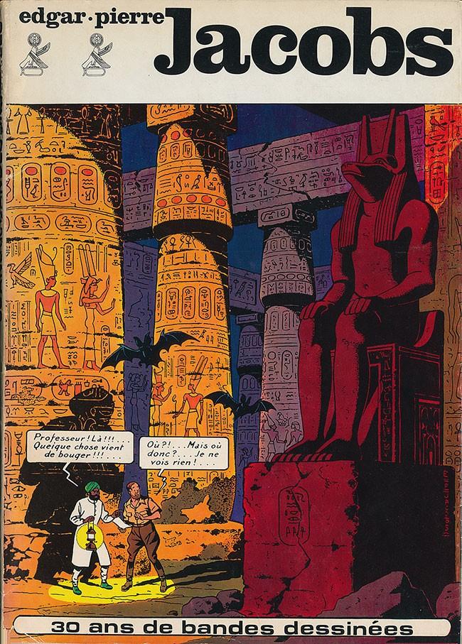 Couverture de (AUT) Jacobs, Edgar P. -1- Edgar-Pierre Jacobs 30 ans de bandes dessinées