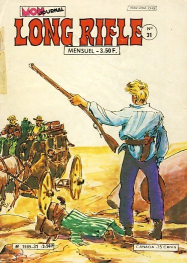 Couverture de Long Rifle -31- Le massacre de Comanche Station