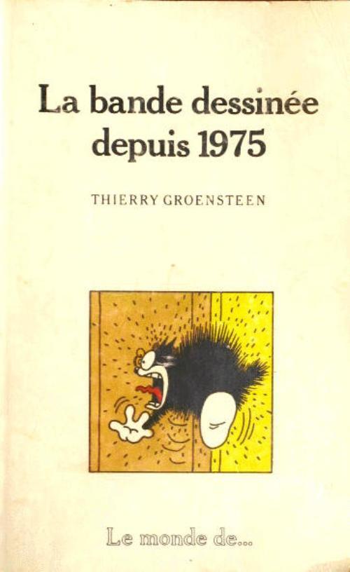 Couverture de (DOC) Études et essais divers - La bande dessinée depuis 1975