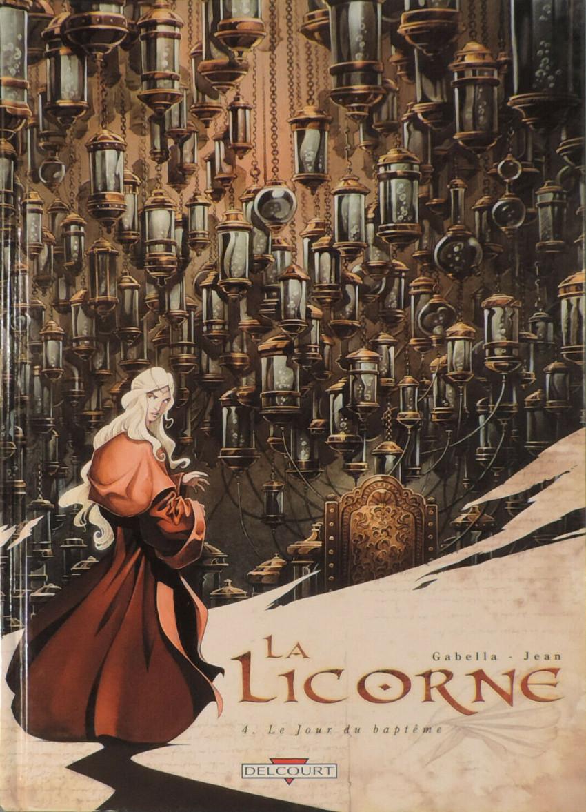 Couverture de La licorne -4- Le Jour du baptême