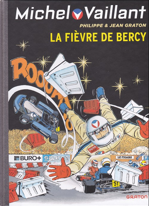 Couverture de Michel Vaillant (Dupuis) -61- La Fièvre de Bercy