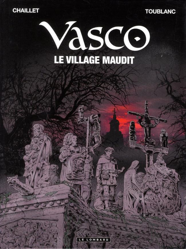 Couverture de Vasco -24- Le village maudit