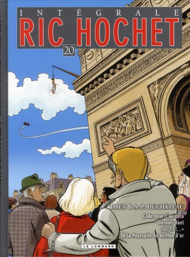 Couverture de Ric Hochet (Intégrale) -20- Tome 20