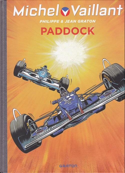 Couverture de Michel Vaillant (Dupuis) -58- Paddock