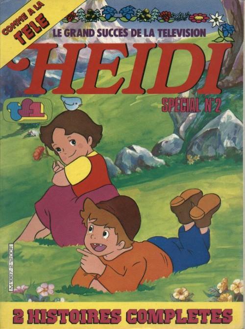 Couverture de Heidi spécial -2- Tome 2