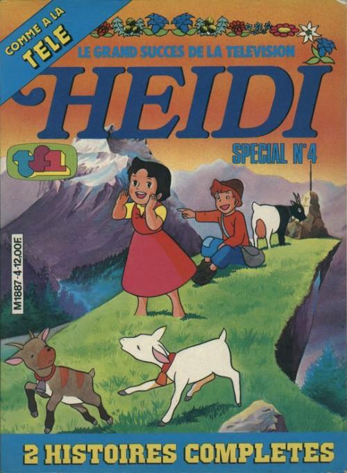 Couverture de Heidi spécial -4- Tome 4