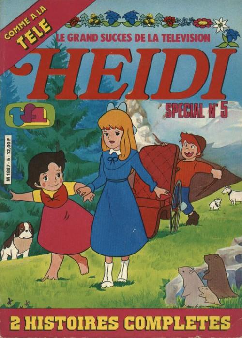 Couverture de Heidi spécial -5- Tome 5