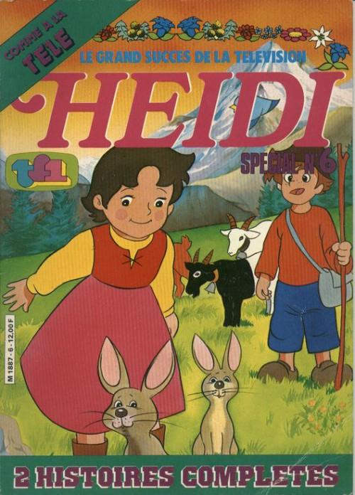 Couverture de Heidi spécial -6- Tome 6