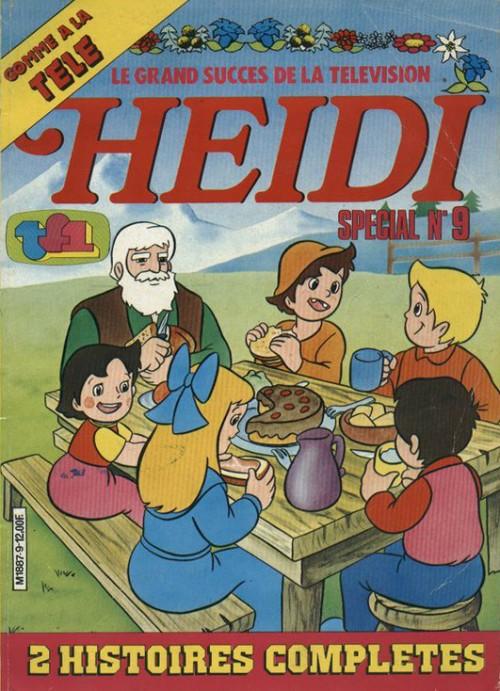 Couverture de Heidi spécial -9- Tome 9