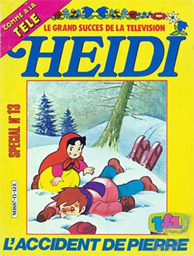 Couverture de Heidi spécial -13- L'Accident de Pierre