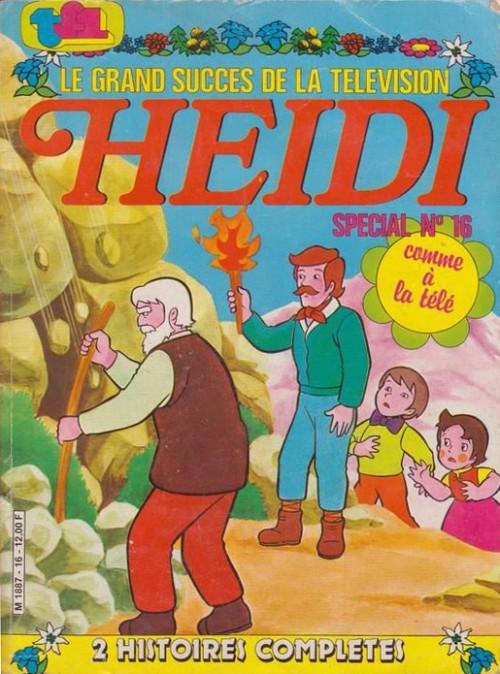 Couverture de Heidi spécial -16- Tome 16
