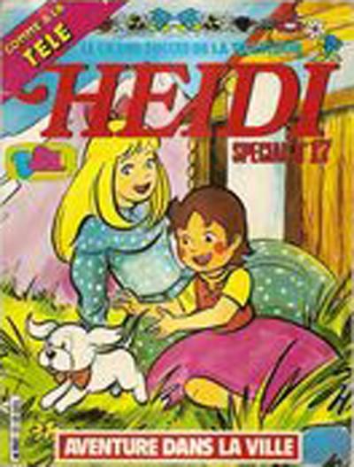 Couverture de Heidi spécial -17- Aventure dans la ville