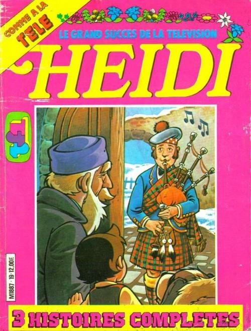 Couverture de Heidi spécial -19- Tome 19