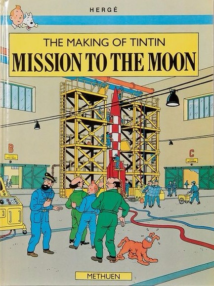 Couverture de Tintin (The Adventures of) -INT4- Mission to the Moon