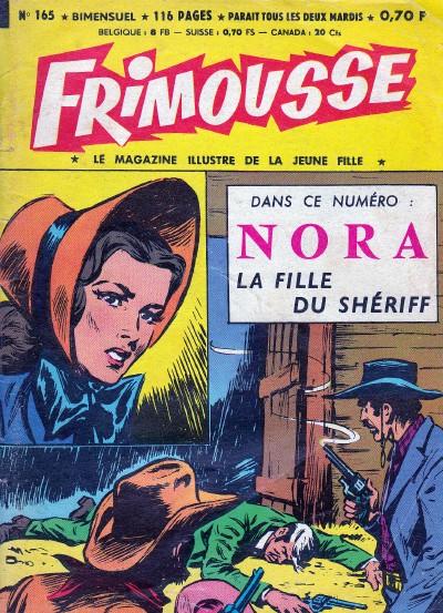 Couverture de Frimousse et Frimousse-Capucine -165- Suspense à la une