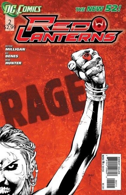 Couverture de Red Lanterns (2011) -2- Rage