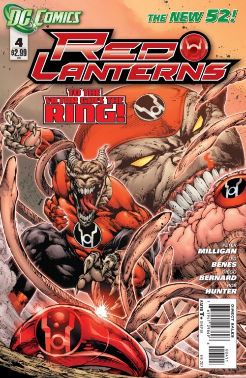 Couverture de Red Lanterns (2011) -4-  The Departed
