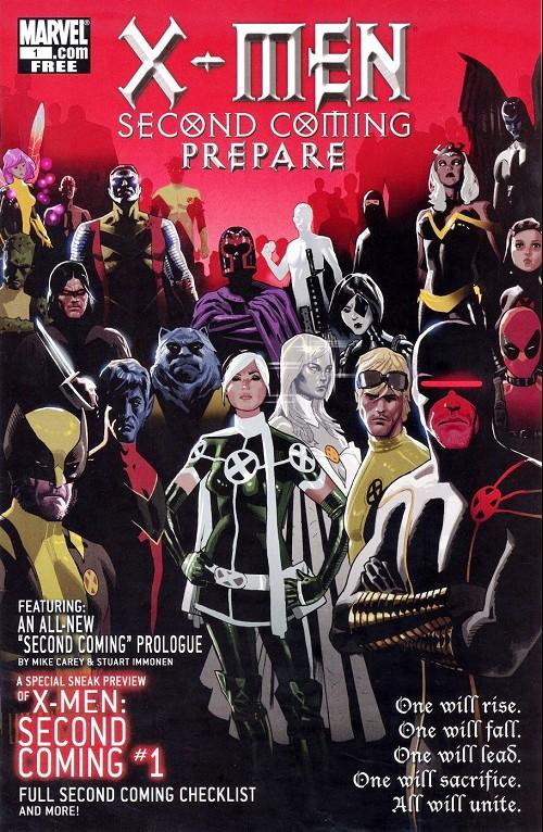 Couverture de X-Men: Second coming (2010) -HS- Preview