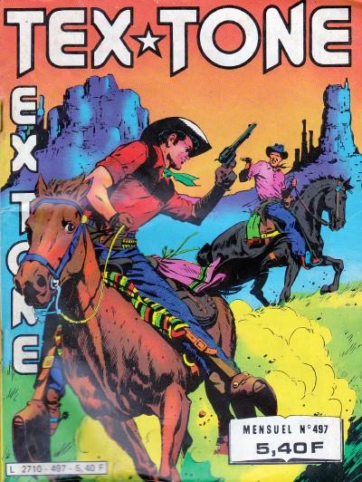 Couverture de Tex-Tone -497- Le collier d'émeraudes