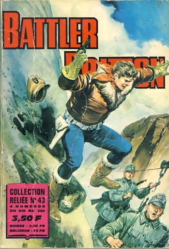 Couverture de Battler Britton -Rec43- Collection Reliée N°43 (du n°319 au n°322)