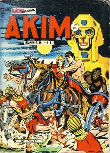 Couverture de Akim (1re série) -545- Le dieu de la mort